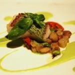 Merluzzo Con Salsa Di Basilico